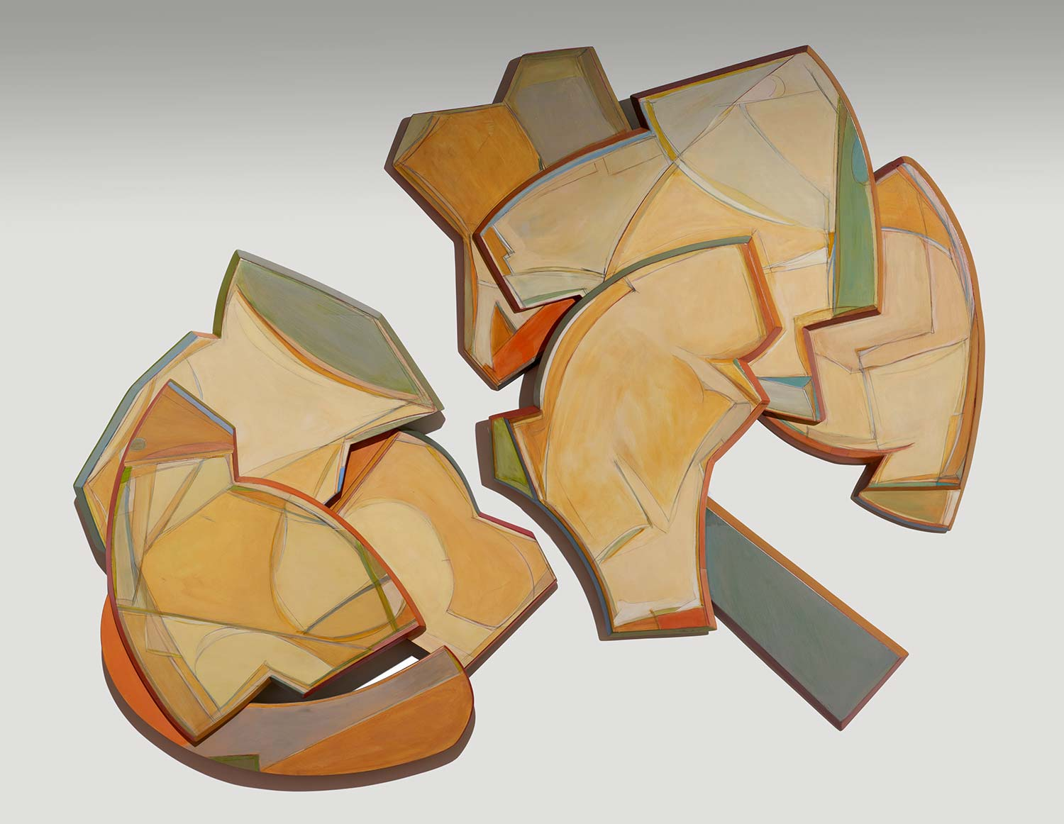 High Relief Wall Sculpture by George Handy